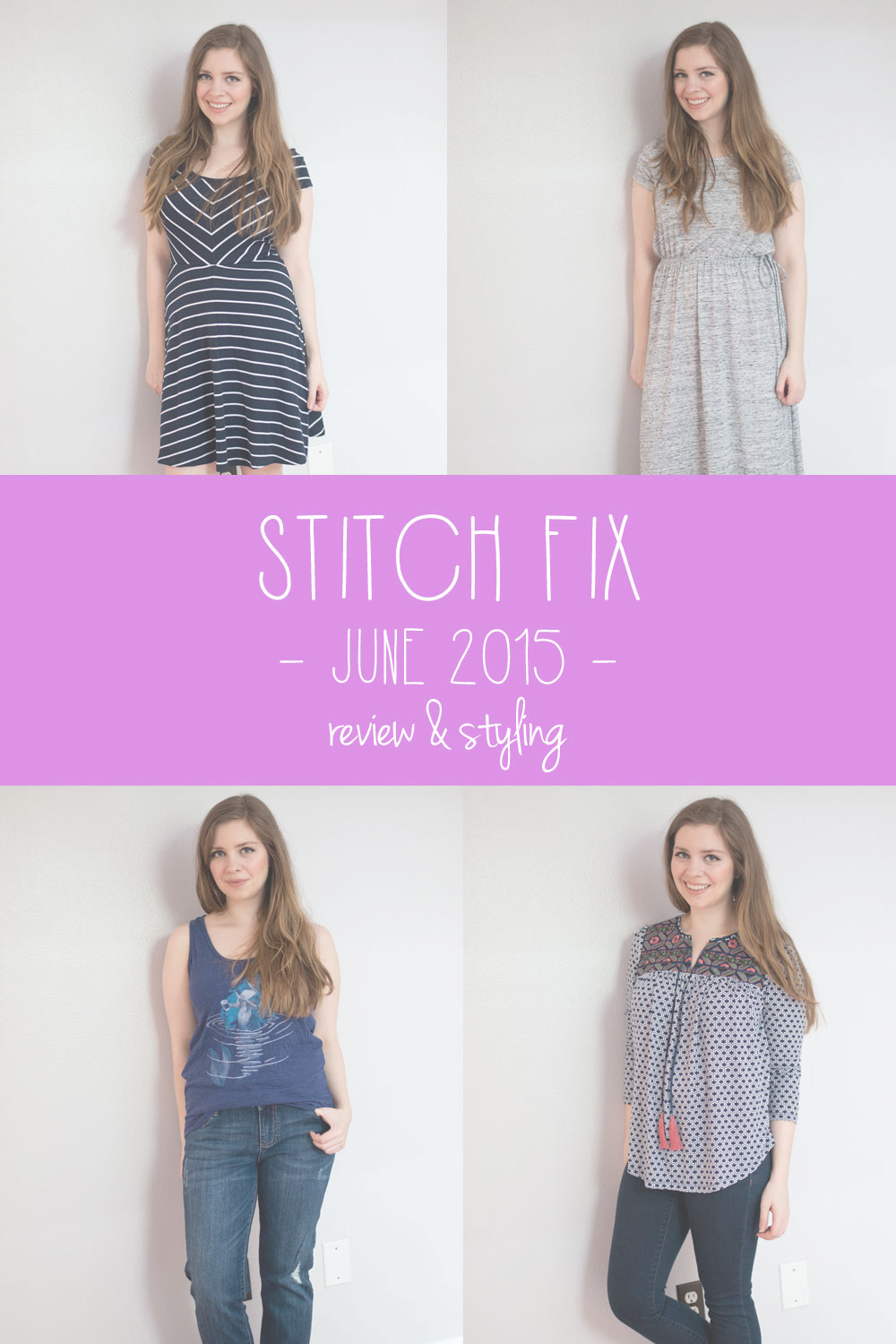 Stitch Fix June 2015 Review & Styling / hellorigby seattle fashion blog