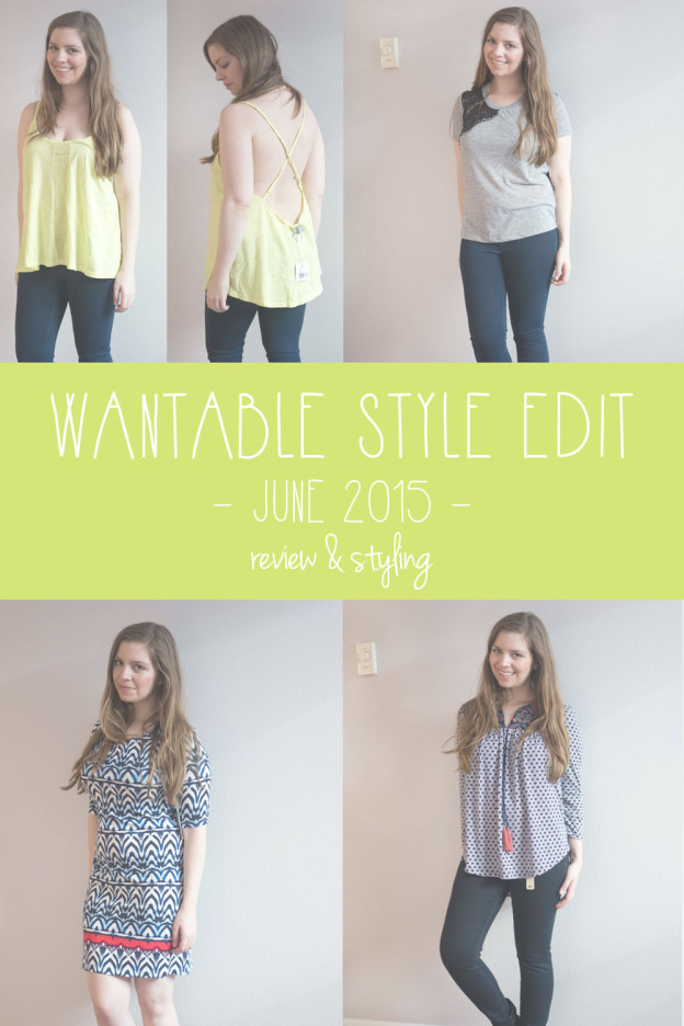 Wantable Style Edit June 2015 / hellorigby seattle fashion blog