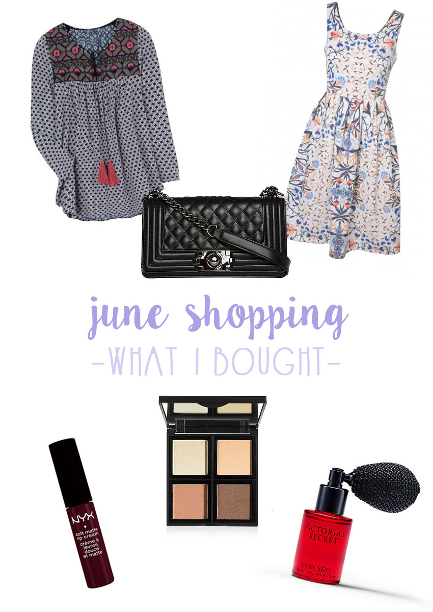 What I Bought: June 2015 / hellorigby seattle fashion blog