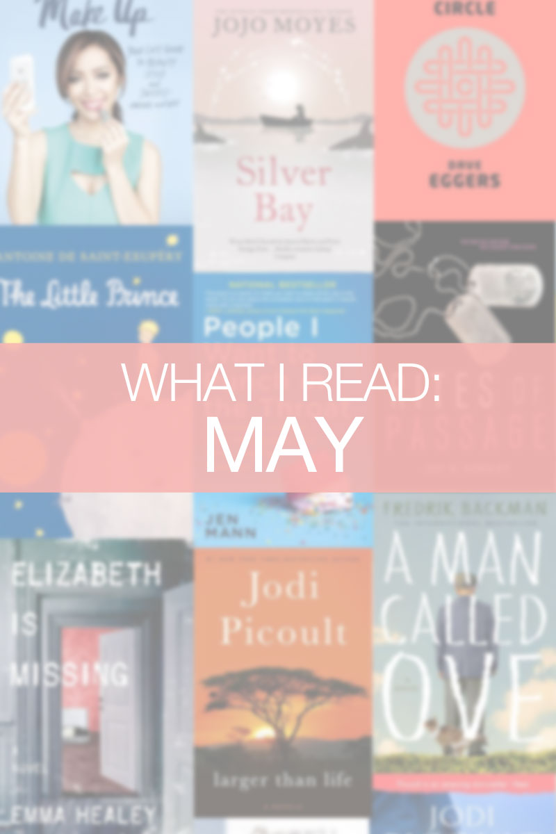 What I Read in May / hellorigby seattle book blog