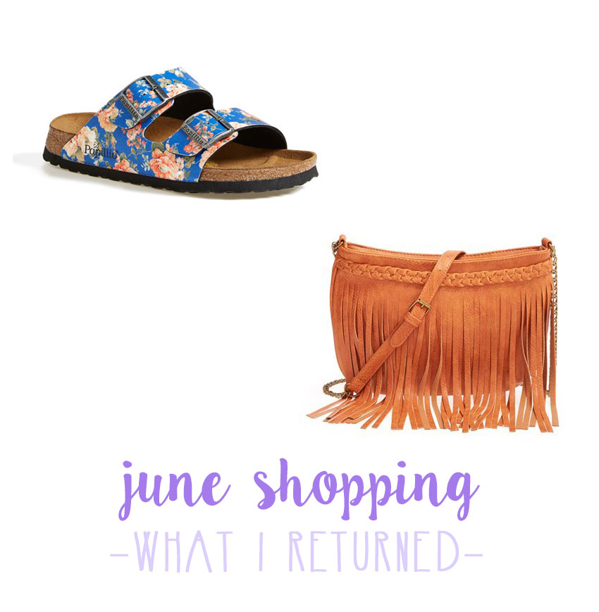 What I Returned: June 2015 / hellorigby seattle fashion blog