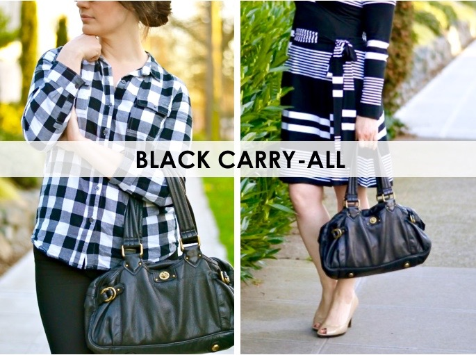 5 Must Have Handbags: Black Carry-all / hellorigby seattle fashion blog