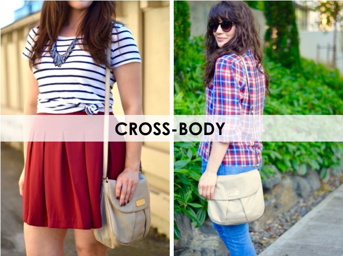 5 Must Have Handbags: Cross-body / hellorigby seattle fashion blog