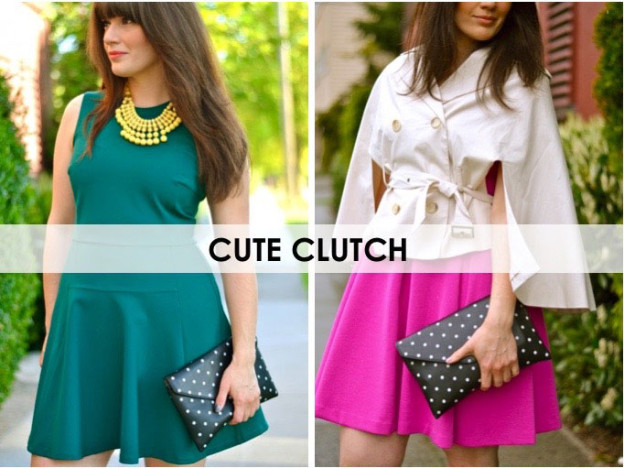 5 Must Have Handbags: Cute Clutch / hellorigby seattle fashion blog