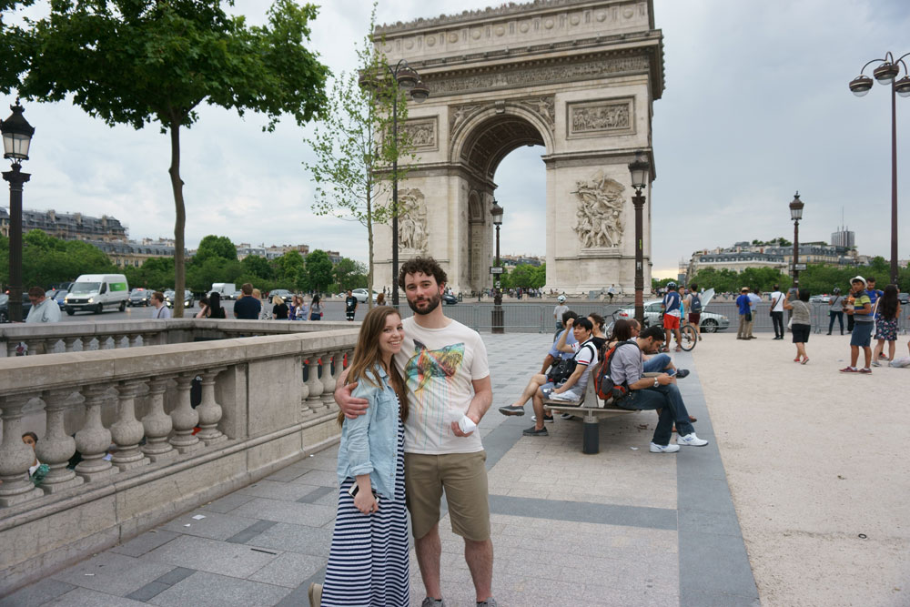 Arc de Triomphe in Paris, France / hellorigby seattle fashion blog