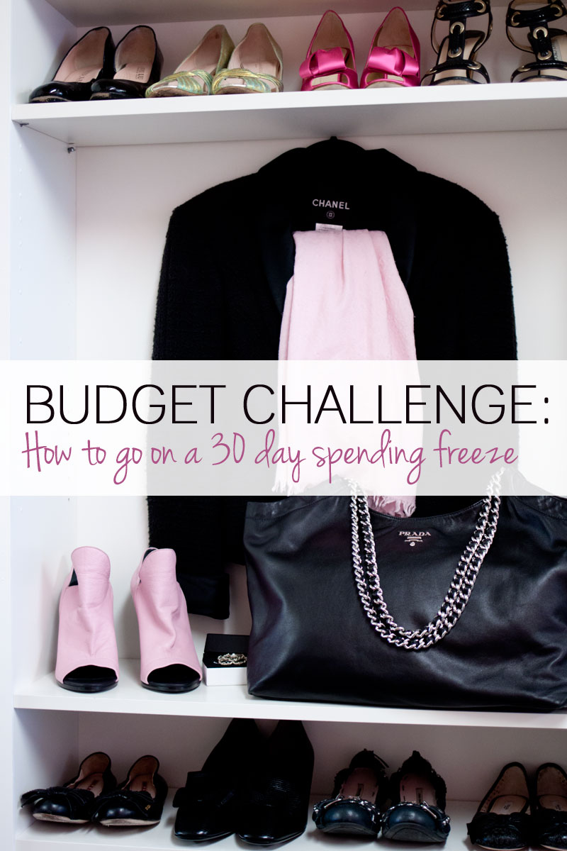 Budget Challenge: How to Go on a 30 Day Spending Freeze / hellorigby seattle lifestyle blog