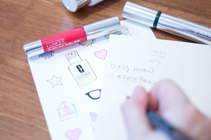 In 5 Years #FaceForward with Clinique / Writing on a Notepad / hellorigby seattle beauty blog