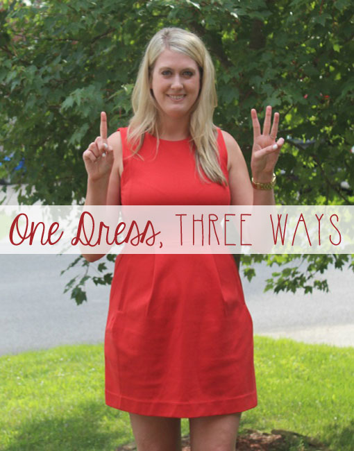 One Dress, Three Ways from The Lady Lawyer / hellorigby seattle fashion blog