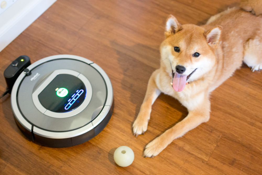 Rigby's Favorites: Roomba 780 Pet Vacuum // hellorigby seattle dog blog