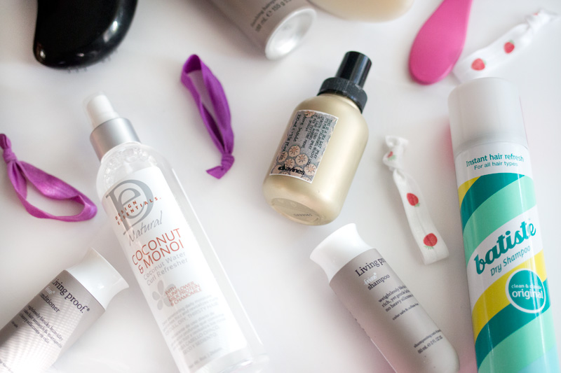 Summer Hair Favorites including Davines Sea Salt Spray and Living Proof No Frizz Line / hellorigby beauty blog