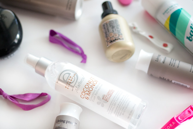 Summer Haircare Favorites featuring Design Essentials Coconut and Monoi Line / hellorigby seattle beauty blog