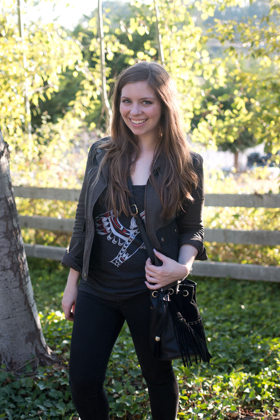 How to Wear Graphic Tees: Casual Weekend Outfit // hellorigby seattle fashion blog