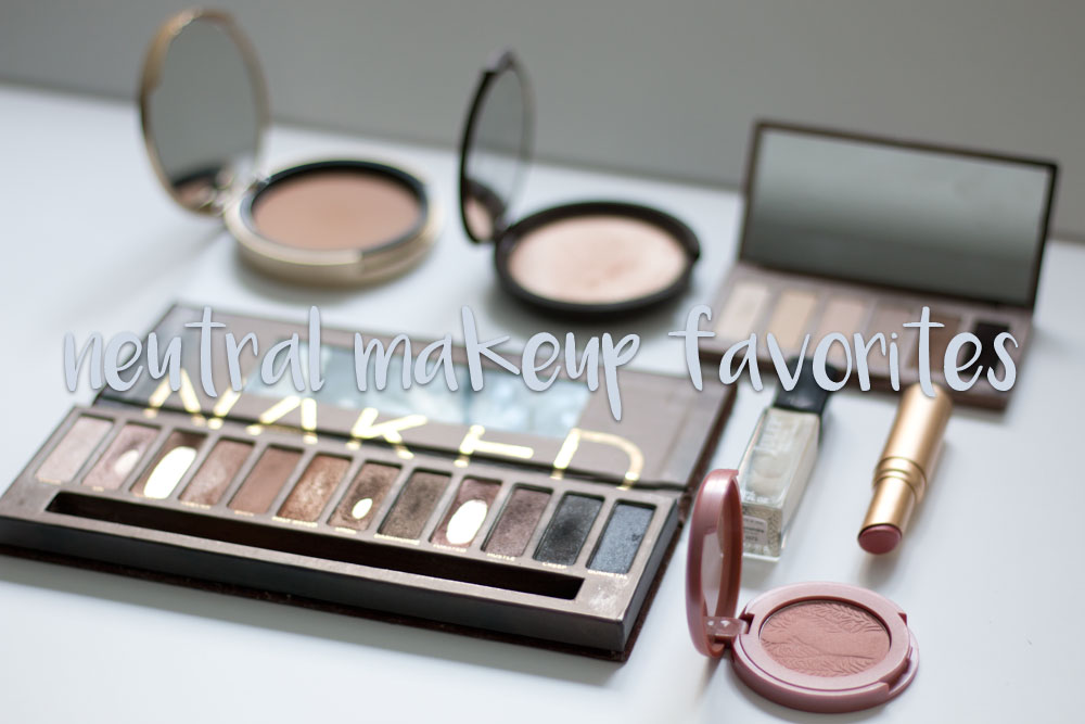 Neutral Makeup Favorites // hellorigby.com seattle beauty blog