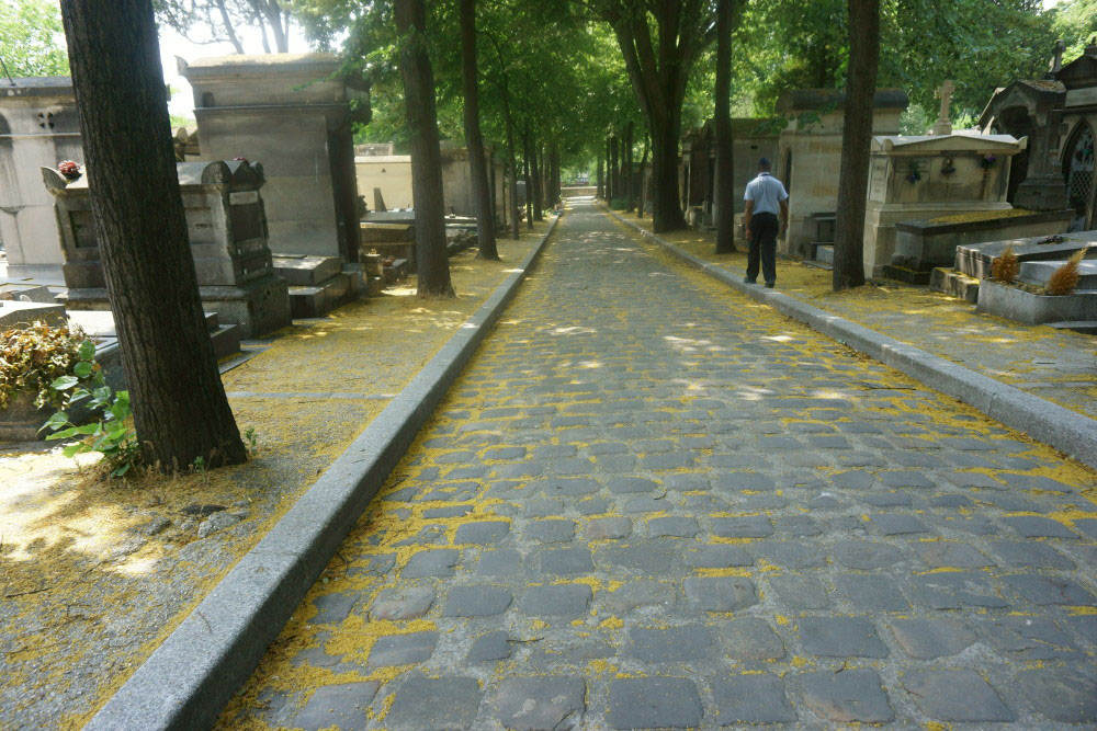 Père Lachaise Cemetery // hellorigby seattle travel blog
