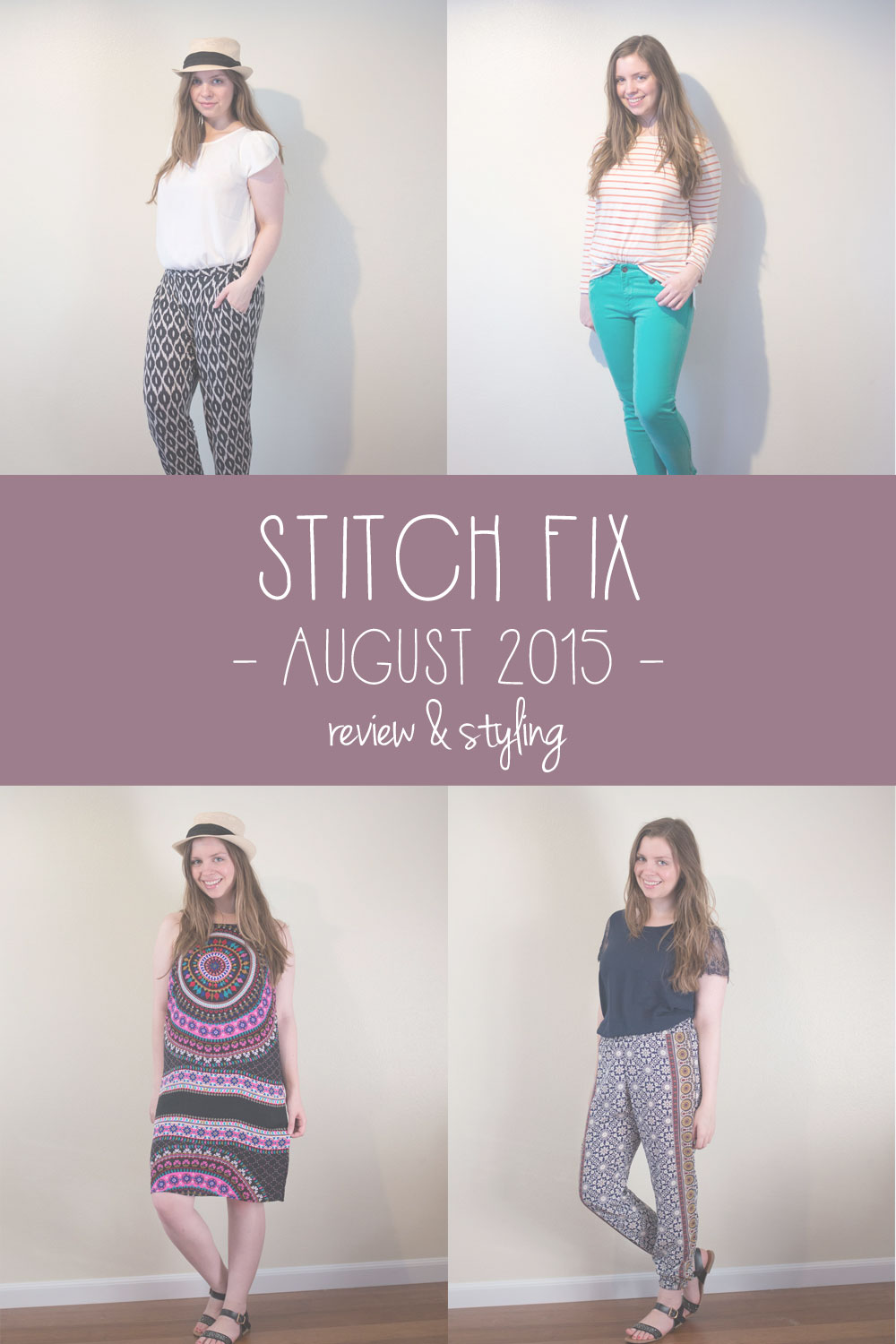 Stitch Fix August 2015 Review & Styling // hellorigby.com seattle fashion blogger