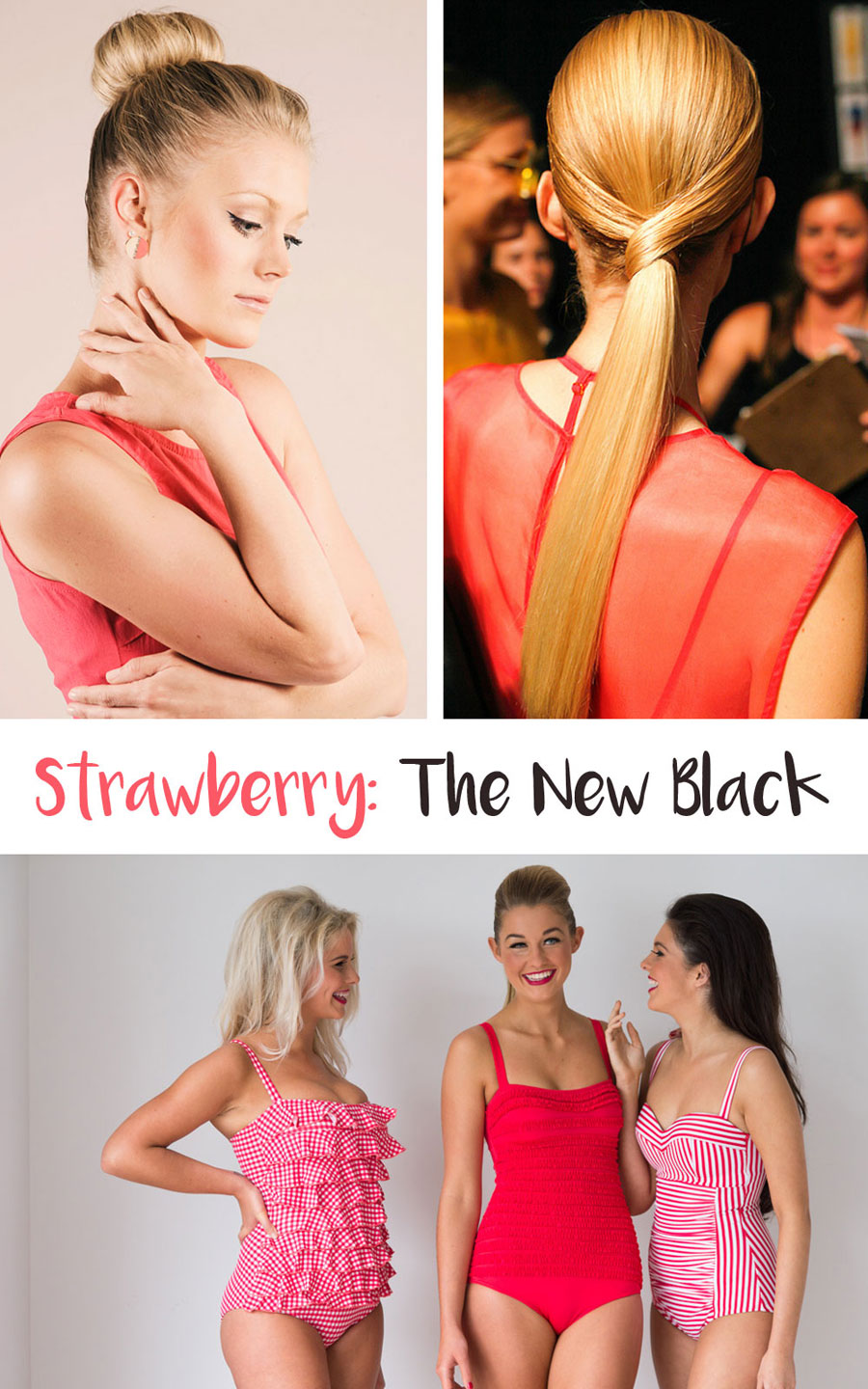 Strawberry is the New Black: Colors for Summer // hellorigby seattle beauty blog