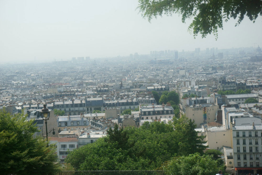 View from Sacre Couer in Montmartre Paris France // hellorigby seattle travel blogger