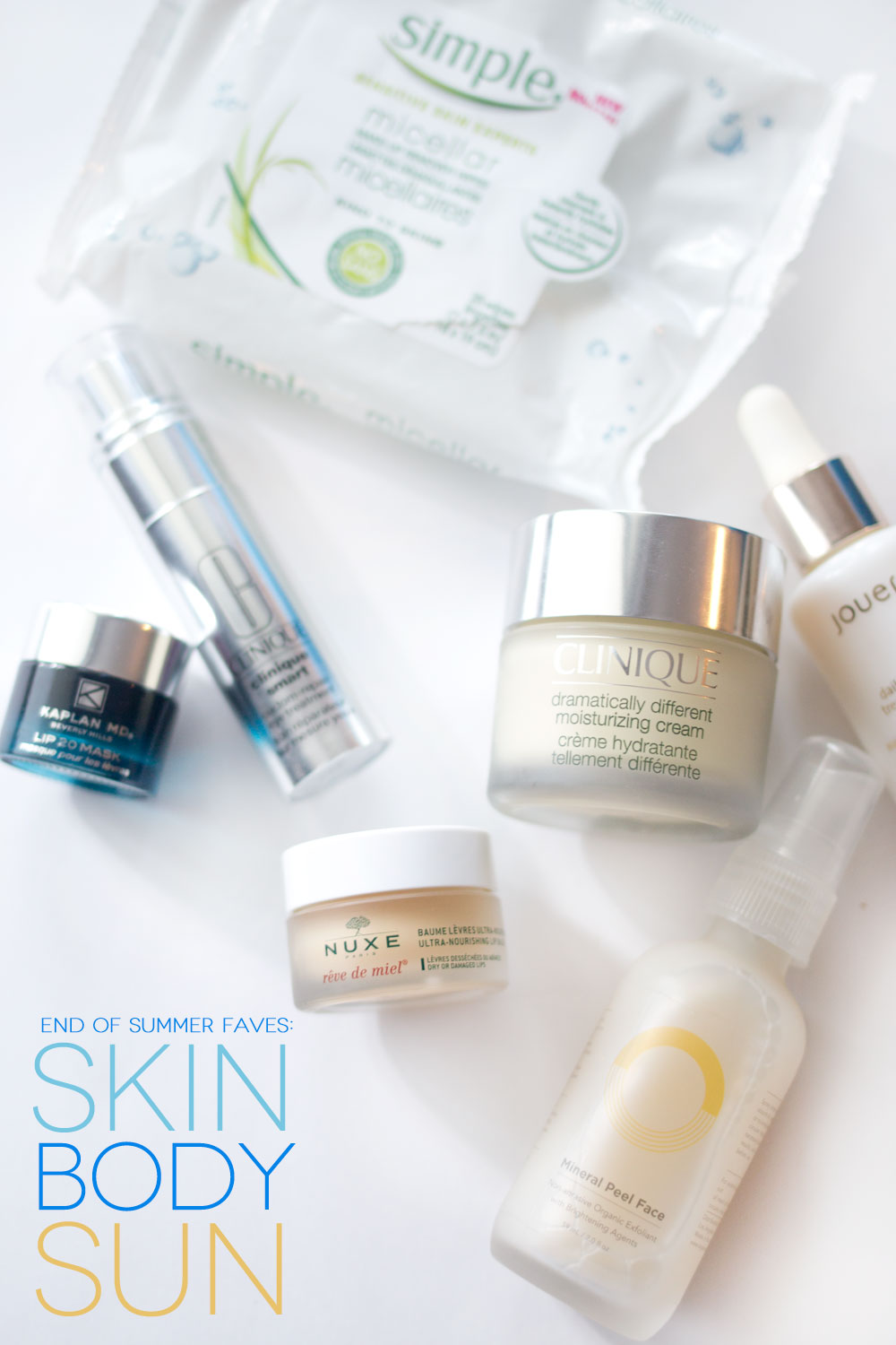 End of Summer Favorites: Skin, Body, & Sun Care // hellorigby seattle beauty blog