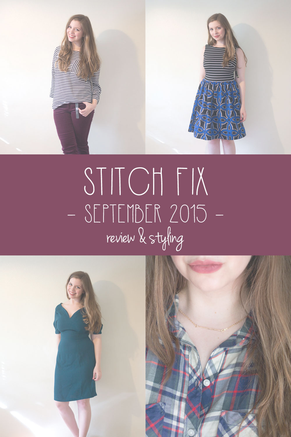 Stitch Fix September 2015 Review & Styling // hellorigby seattle fashion blog