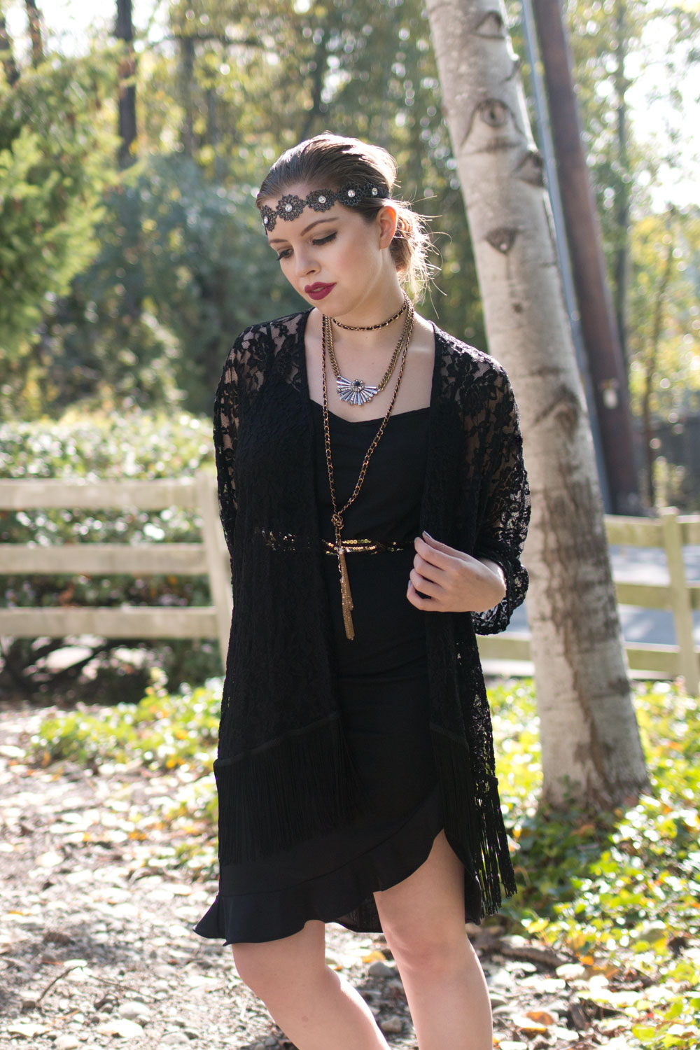 1920s Flapper/Gibson Girl Halloween Costume {On a Budget!} // hellorigby seattle fashion blog