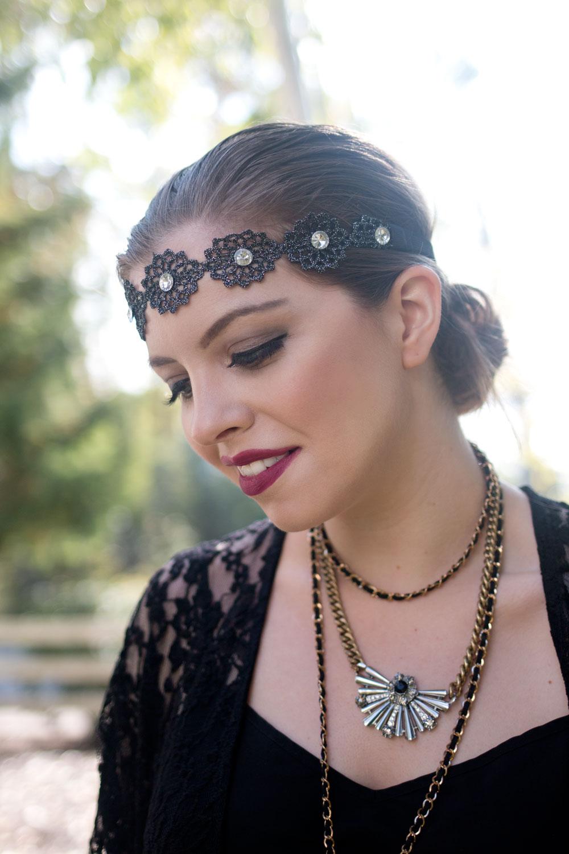 DIY Flapper Costume, Accessories, Hair & Makeup // hellorigby seattle fashion blog