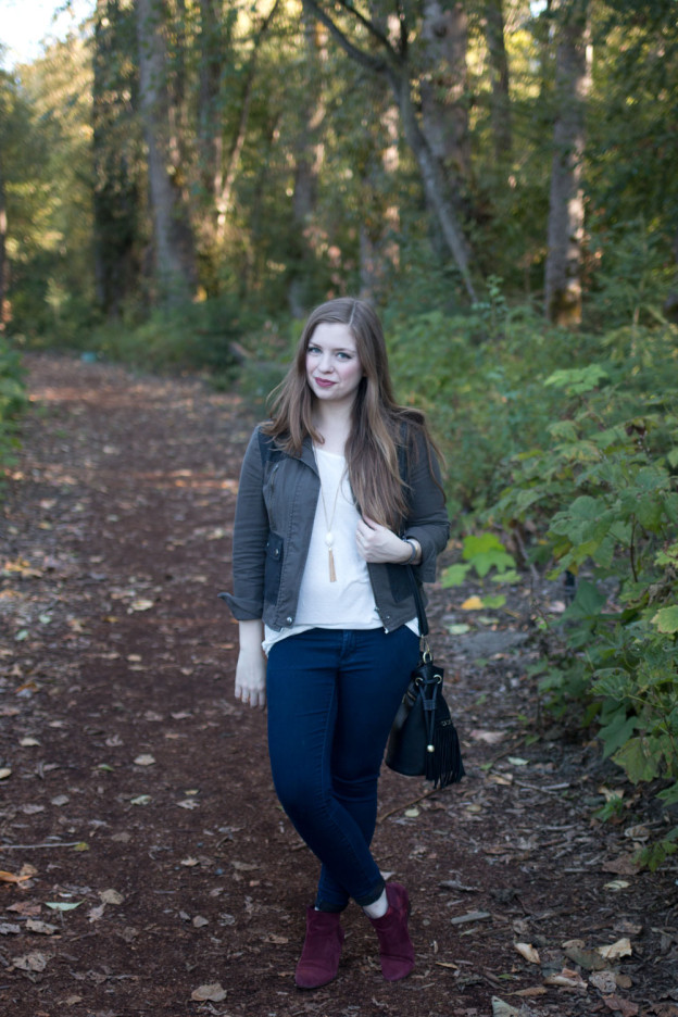 Everday Fall Outfit // hellorigby seattle fashion blog