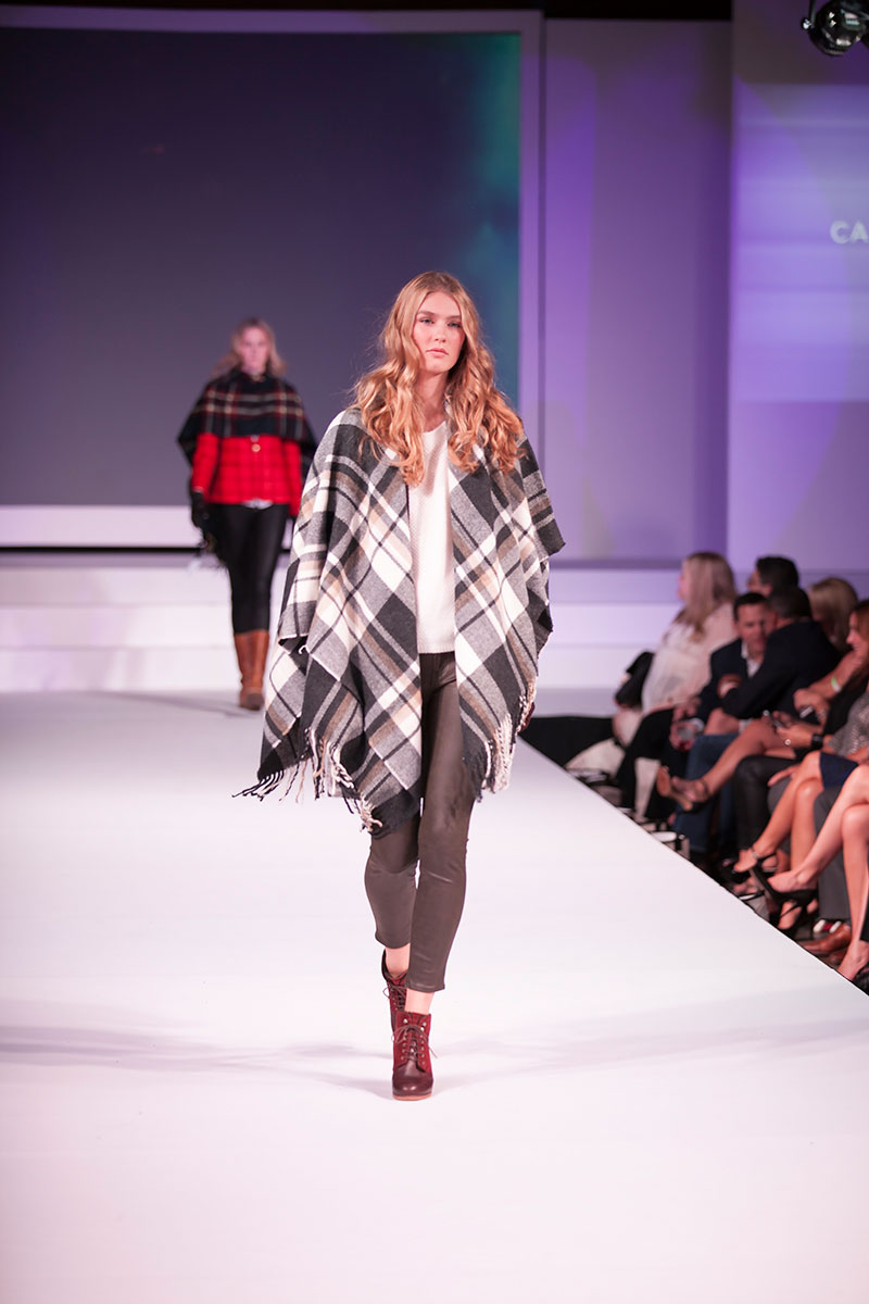 Fashion First Seattle 2015: Runway Poncho Outfit // hellorigby seattle fashion blog