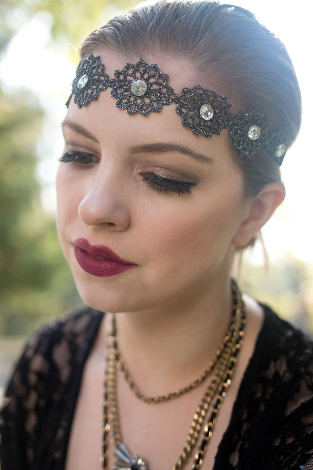 Flapper / Gibson Girl Halloween Costume & Makeup Look // hellorigby seattle fashion blog
