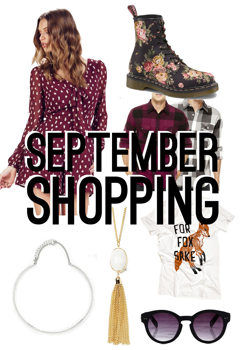 September Shopping Budget // hellorigby seattle shopping blog