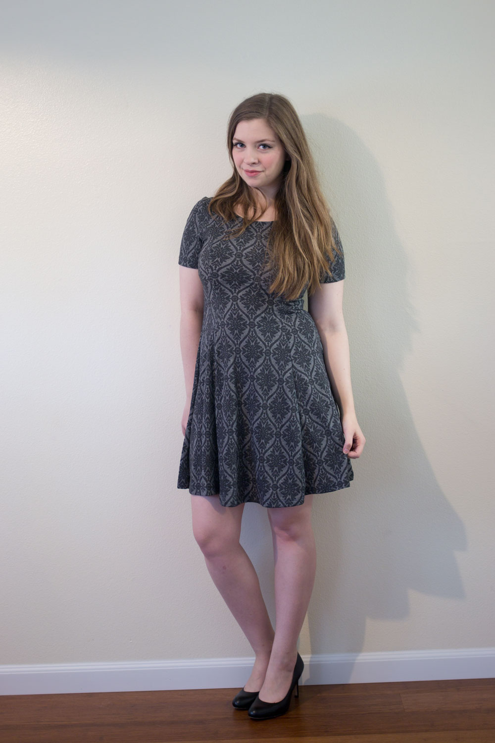 Stitch Fix October 2015: Everly Peter Dress in Damask Print // hellorigby seattle fashion blog