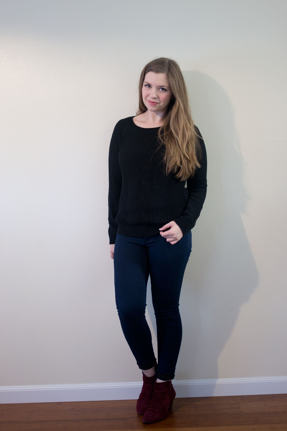 Stitch Fix October 2015: OIive & Oak Marhsall Cable Knit Pullover Sweater // hellorigby seattle fashion blog