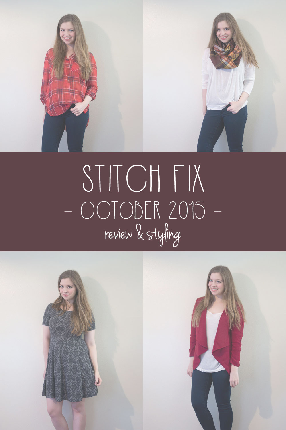 Stitch Fix October 2015 Review & Styling // hellorigby seattle fashion blog