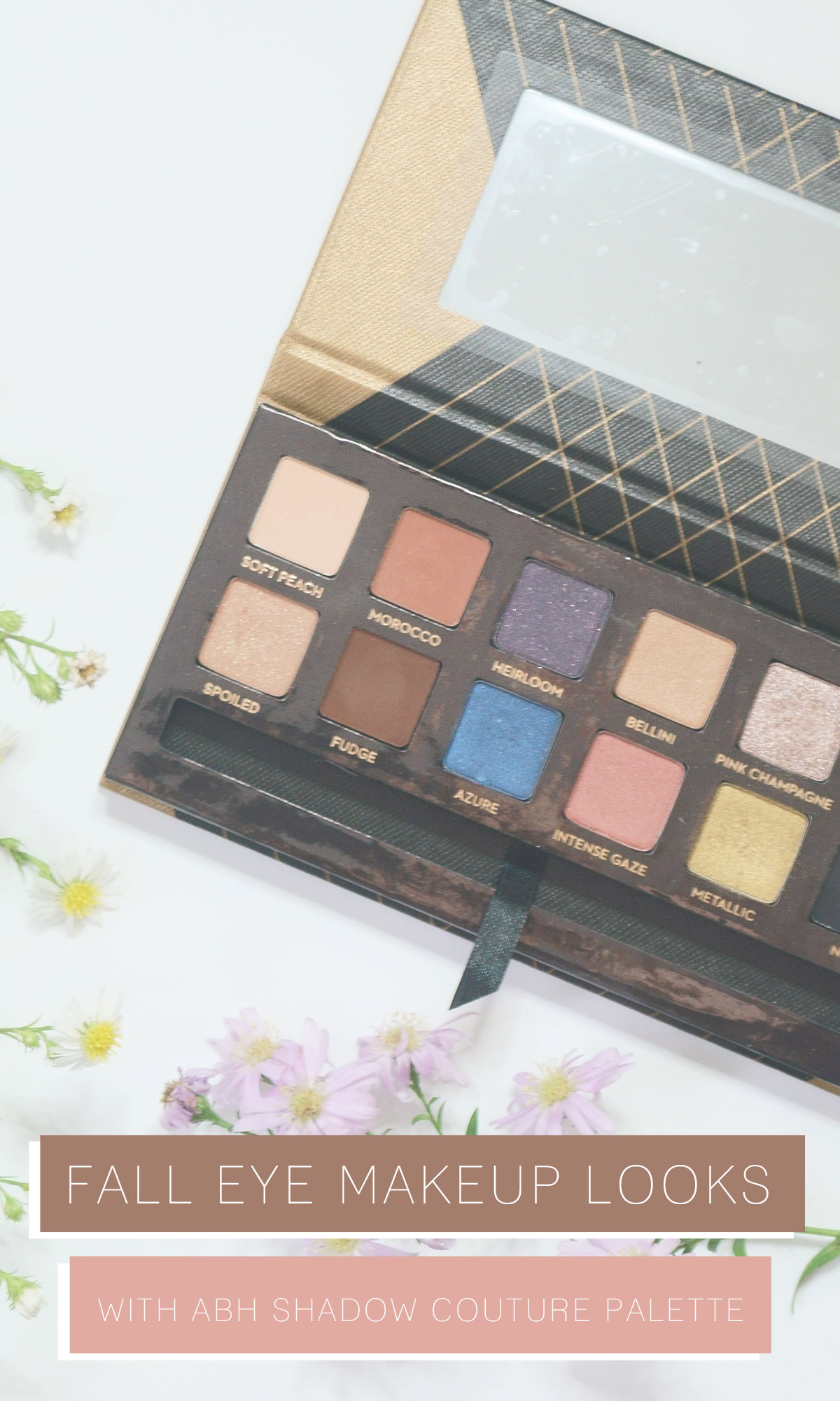 Fall Eye Makeup Looks with Anastasia Beverly Hills Shadow Couture World Traveler Palette // hellorigby.com seattle beauty blog