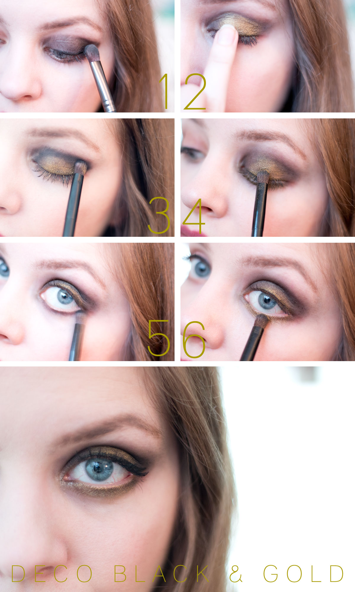 Art Deco Black & Gold Eye Look with Anastasia Beverly Hills Shadow Couture World Traveler Palette // hellorigby.com seattle beauty blog