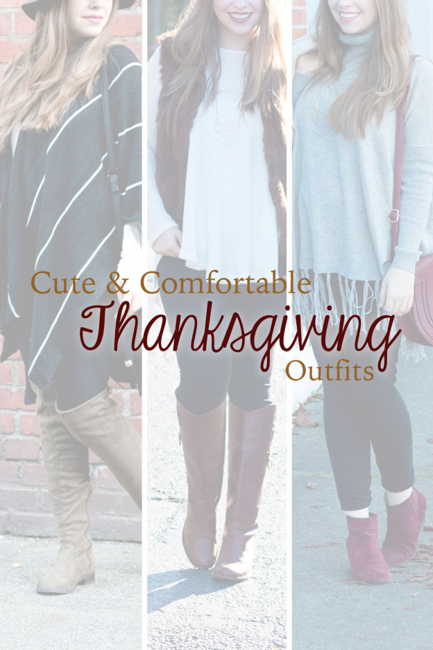 Cute & Comfortable Thanksgiving Holiday Outfits // hellorigby.com seattle fashion blog