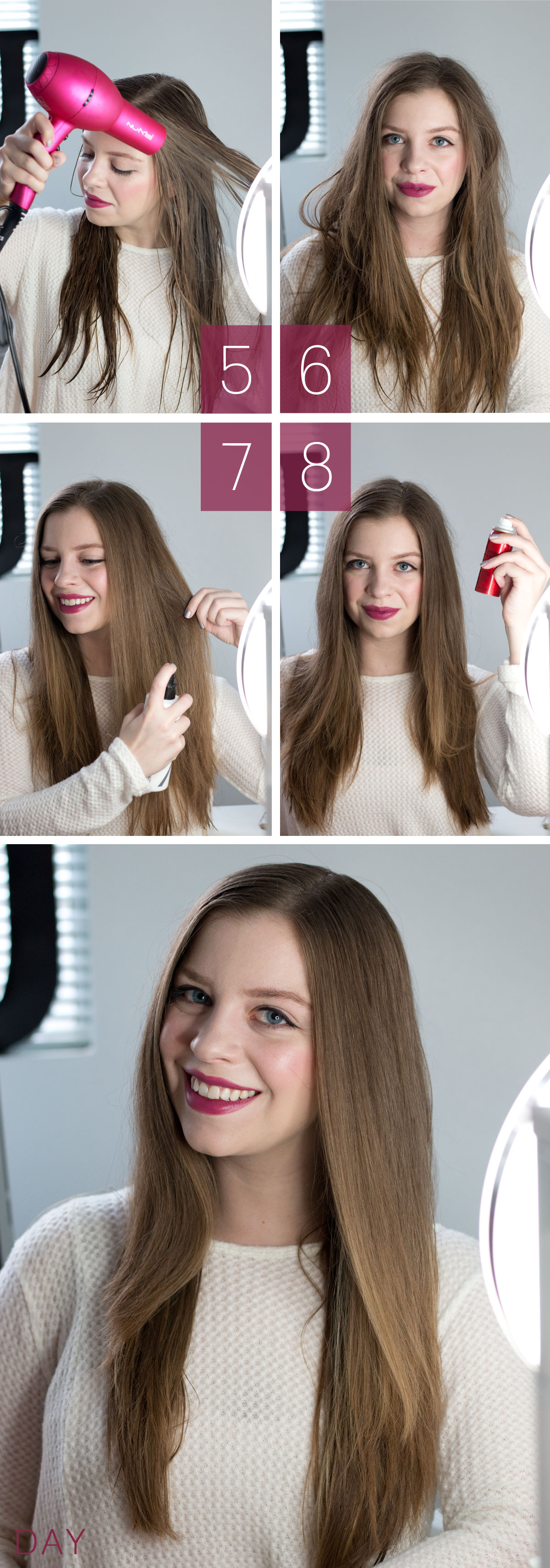 Holiday Ready Blow Out Hairstyle // hellorigby.com seattle hair & beauty blog