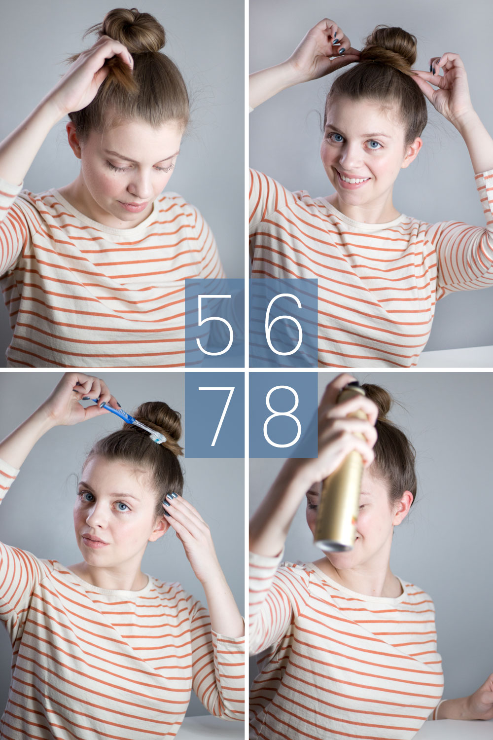 How To Create the Perfect Top Knot: a step by step tutorial // hellorigby.com seattle beauty blog
