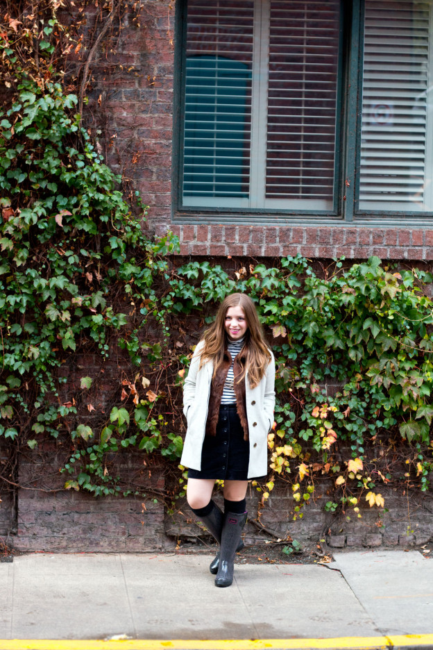 How To Wear Rainboots in Fall // hellorigby.com seattle fashion blog