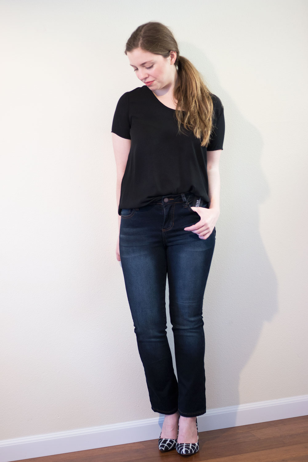 Stitch Fix November 2015: Liverpool Colleen Straight Leg Jean // hellorigby seattle fashion blog