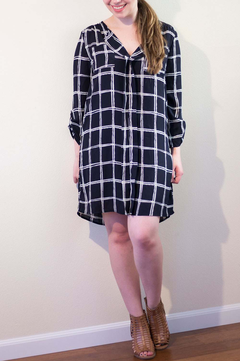 Stitch Fix November 2015: Papermoon Livi Dress in Navy // hellorigby seattle fashion blog