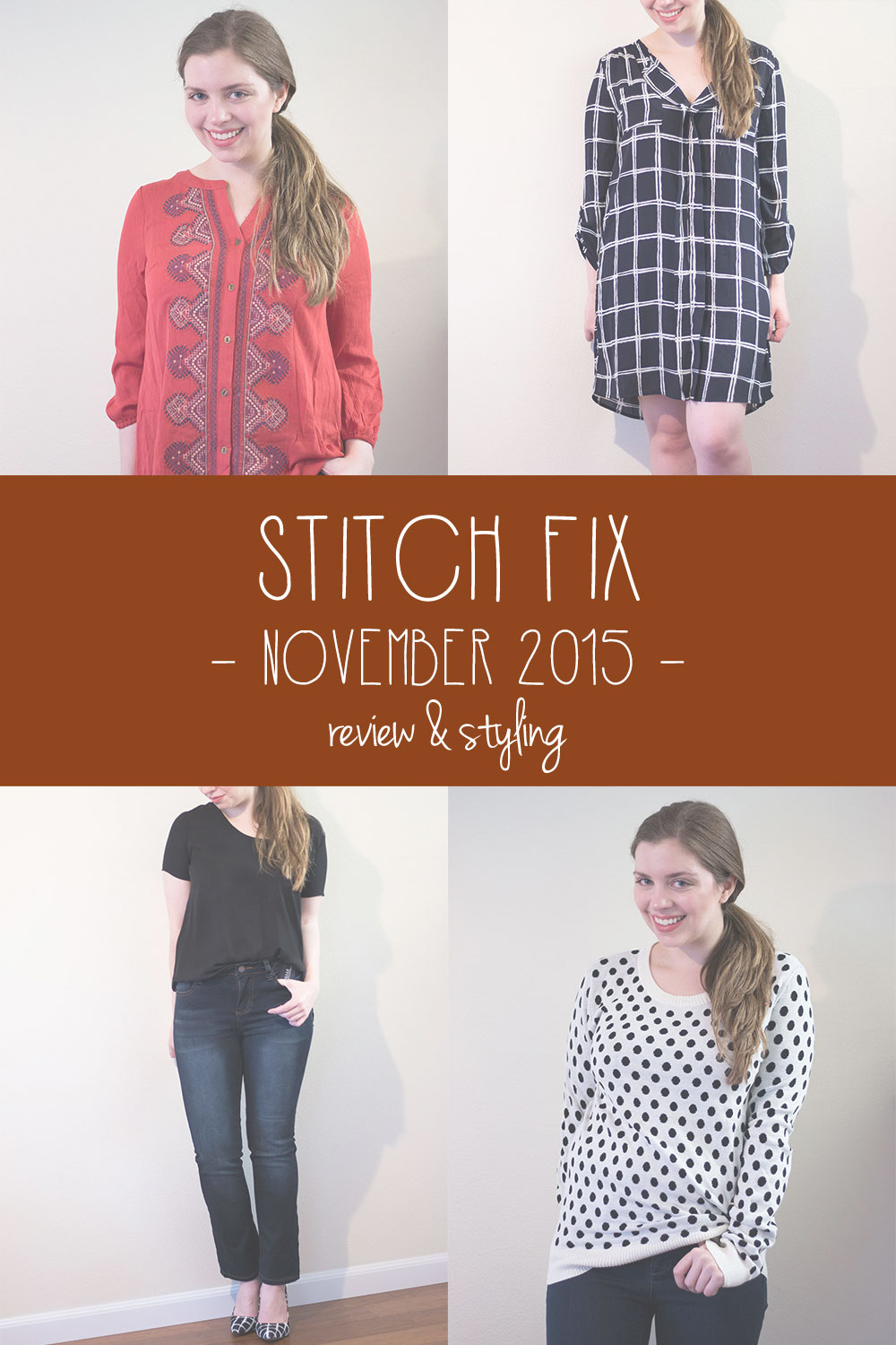 Stitch Fix November 2015 Review & Styling // hellorigby seattle fashion blog
