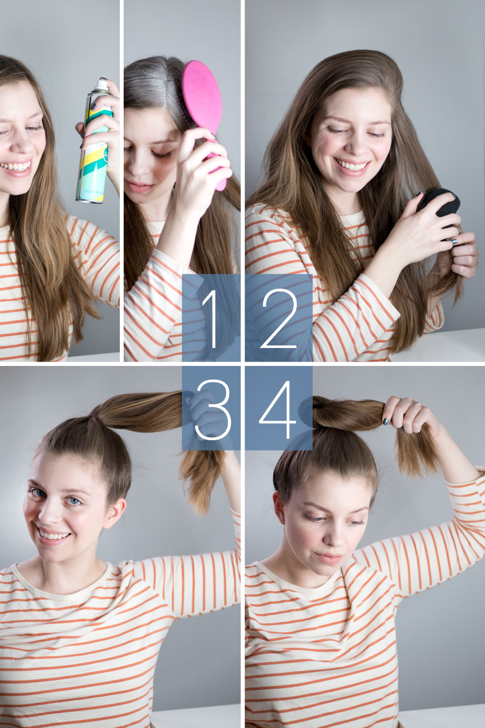 The Perfect Top Knot Tutorial for a Messy Bun // hellorigby.com seattle beauty blog