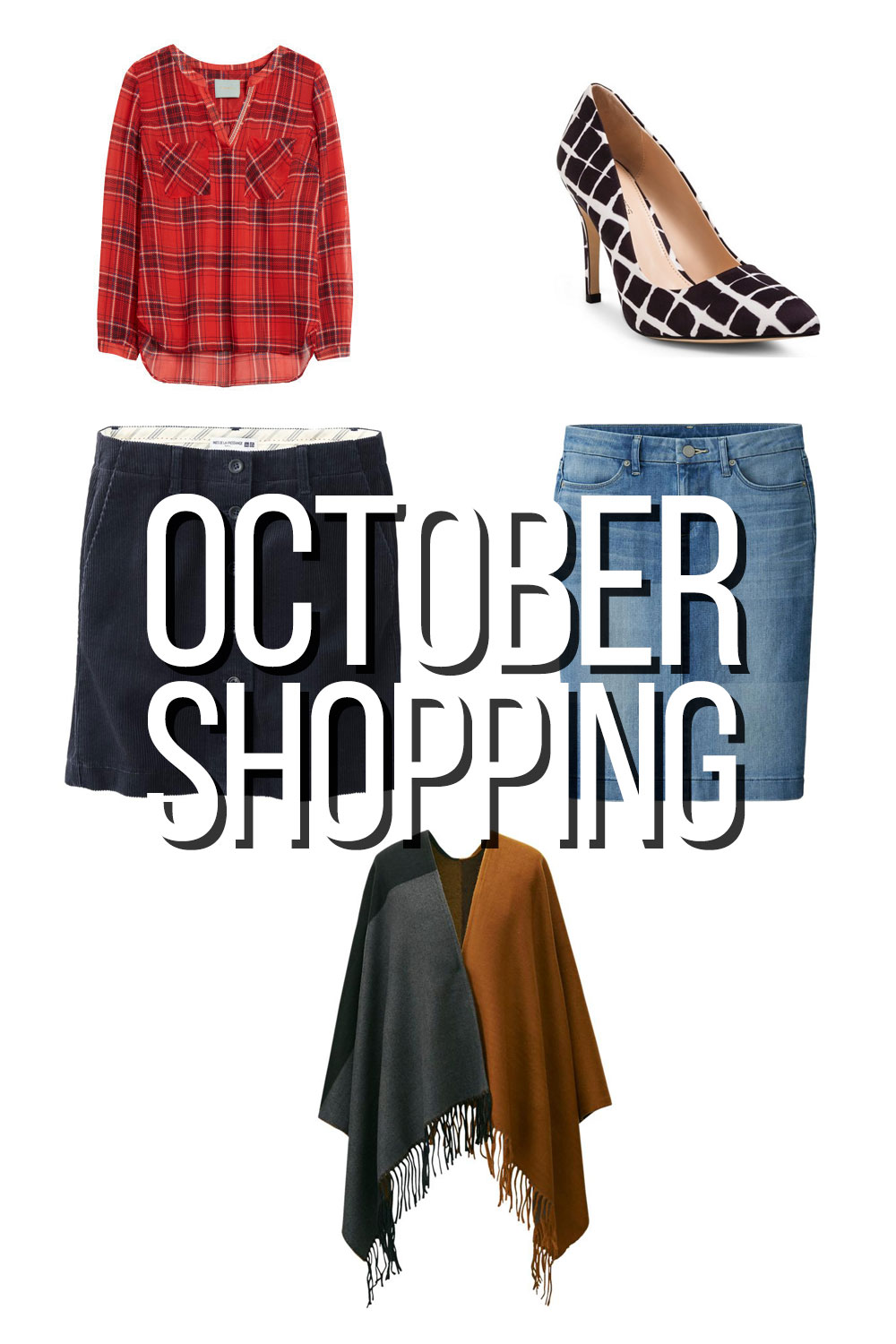 What I Bought: October Shopping Budget // hellorigby seattle shopping blog