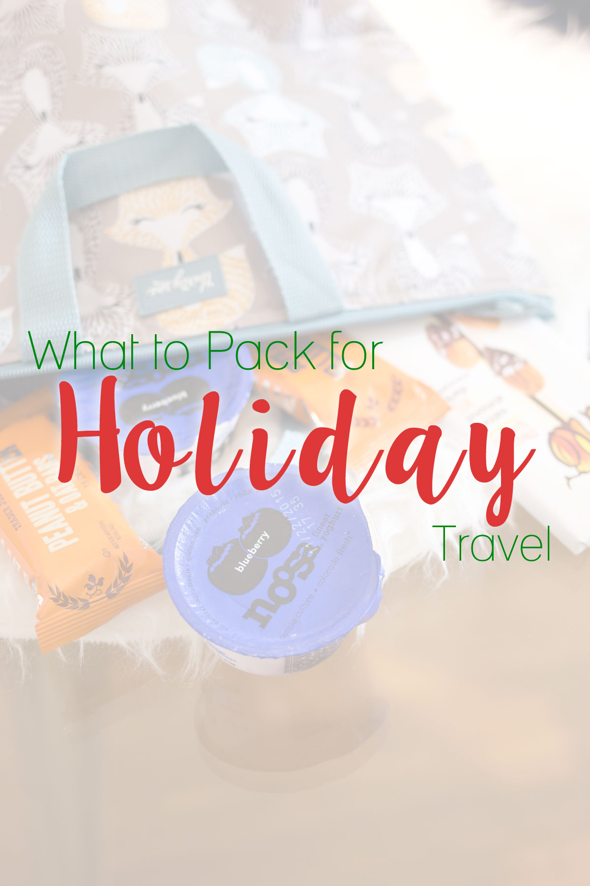 What to Pack for Holiday Travel // hellorigby.com seattle travel & lifestyle blog