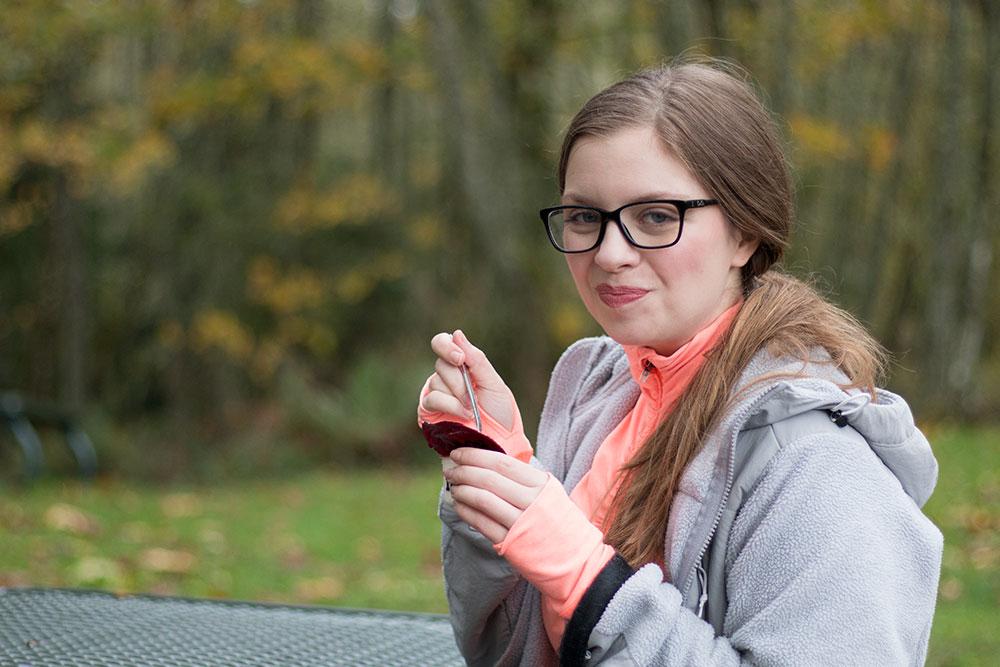 Woman Enjoying Noosa Yoghurt // hellorigby seattle lifestyle blog