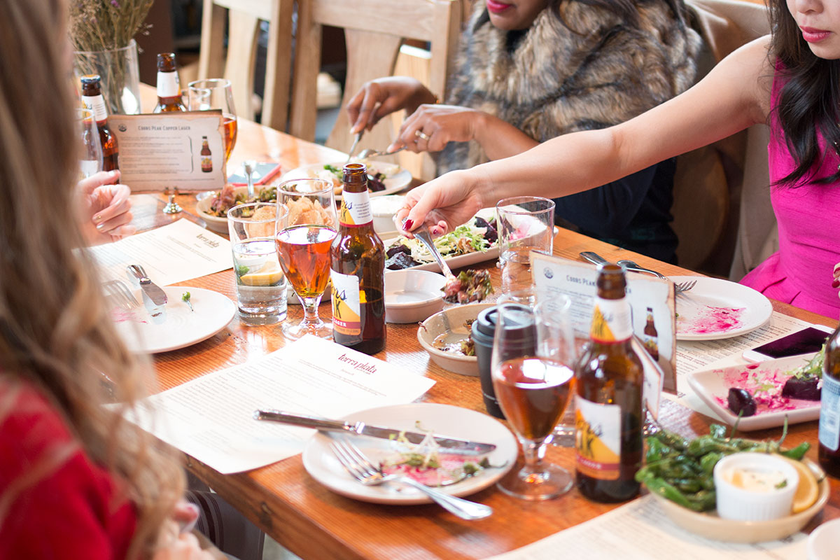 Appetizer Plates at Terra Plata // Seattle Blogger Brunch // hellorigby Seattle Fashion & Beauty Blog