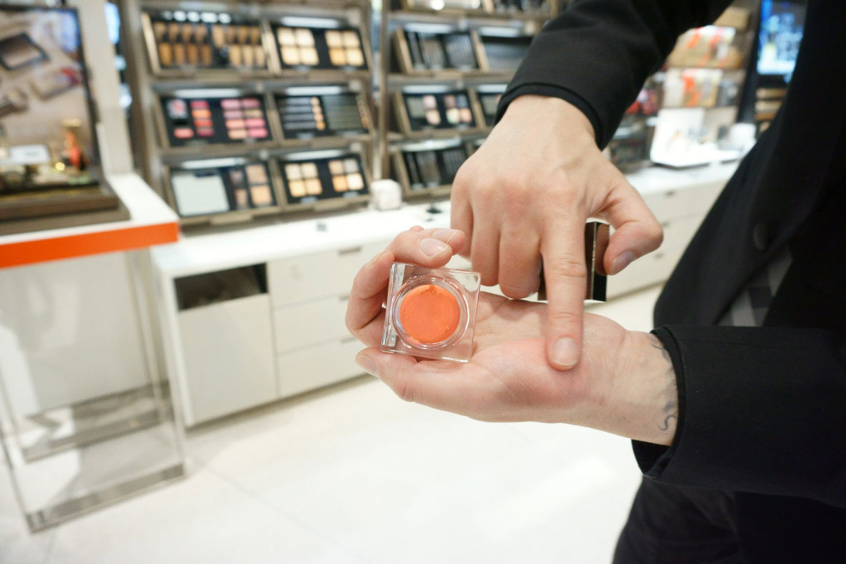 Burberry Beauty Lip & Cheek Bloom in Orange Blossom at Nordstrom // hellorigby.com seattle beauty blog