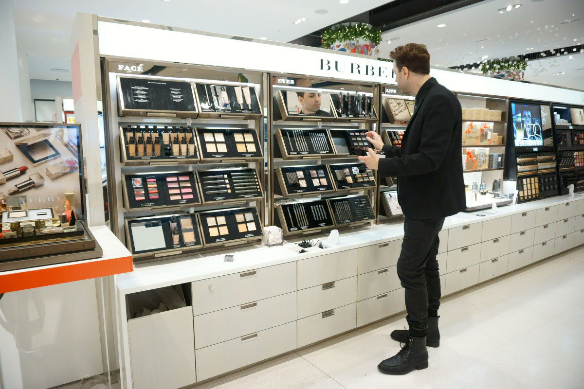 Burberry Makeup Counter at Nordstrom Flagship in Seattle // hellorigby.com seattle beauty blog