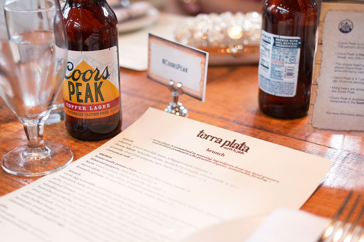 Coors Peak Brunch at Terra Plata in Seattle // hellorigby seattle fashion & beuty blog