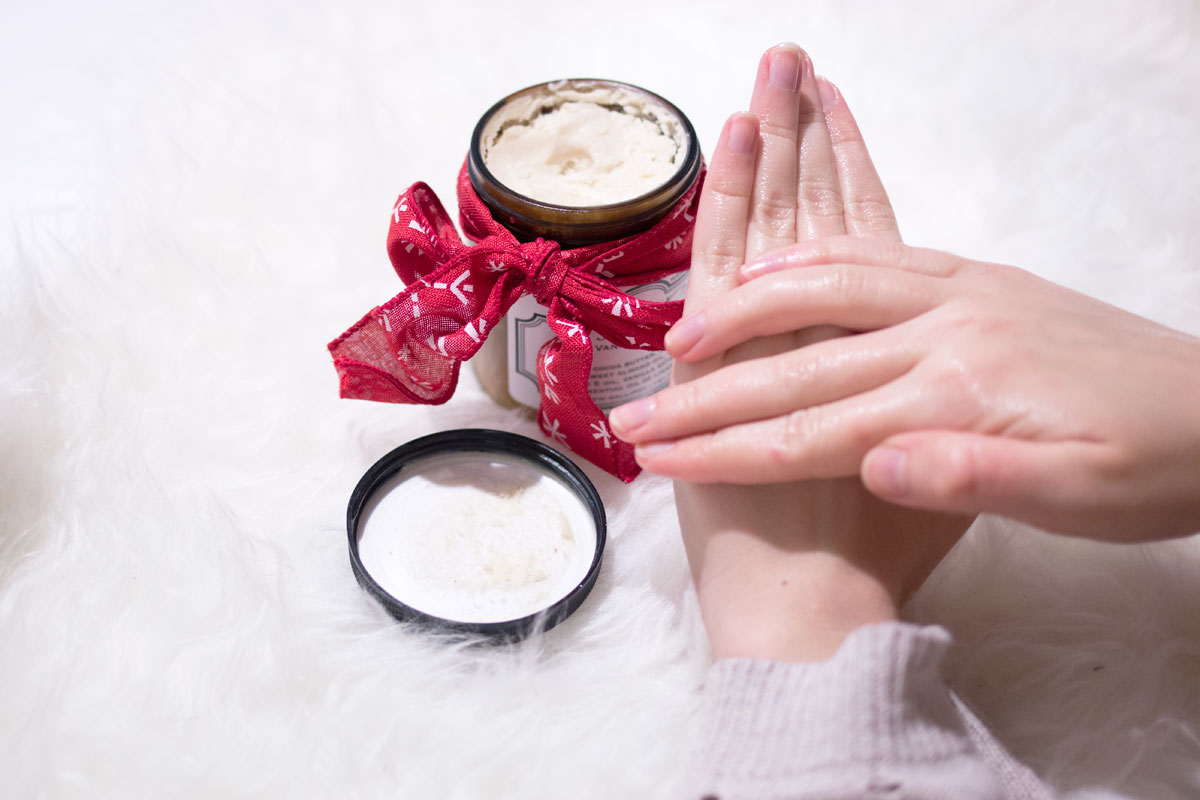 Gallipot Cocoa Body Butter // Relaxing at Home Rituals // hellorigby seattle lifestyle & beauty blog